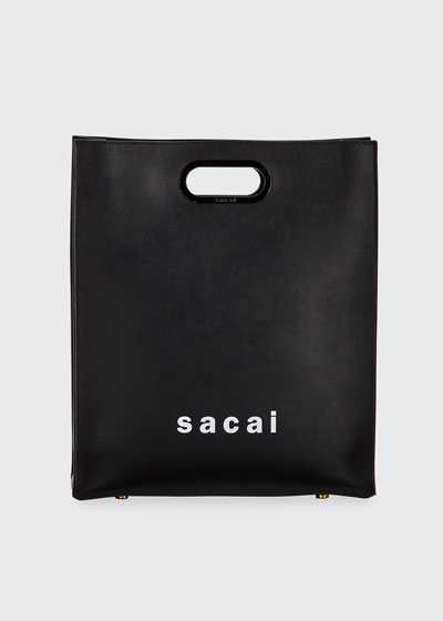 Shopper Medium Smooth Top Handle Bag