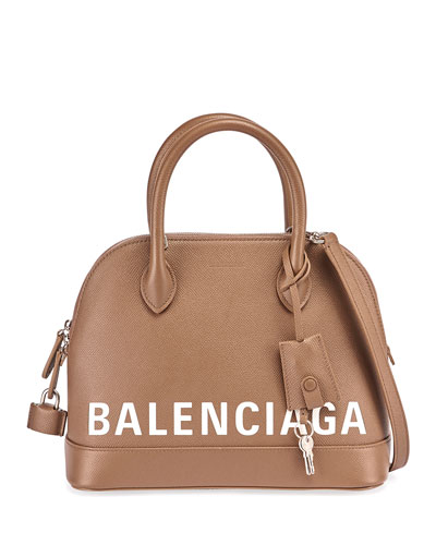 Ville Small AJ Calfskin Top-Handle Bag