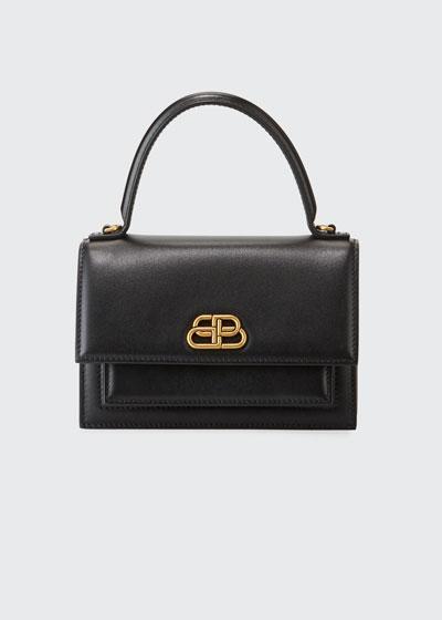 Sharp XS Smooth Box Top-Handle Bag