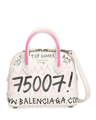 Ville XXS Graffiti Top-Handle Bag
