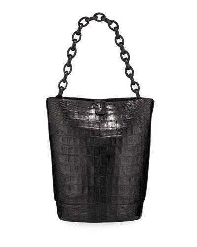 Jojo Crocodile Bucket Bag