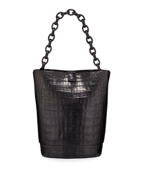 Jojo Crocodile Bucket Bag