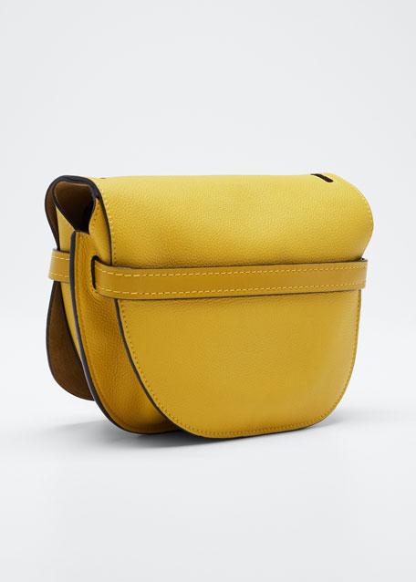 Gate Mini Grain Leather Shoulder Bag
