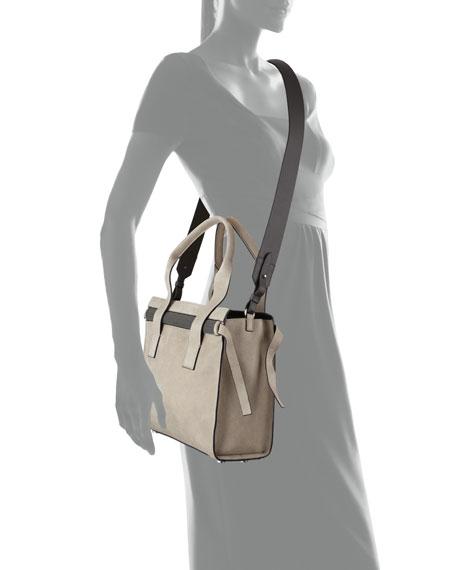 Buffed Leather Tote Bag