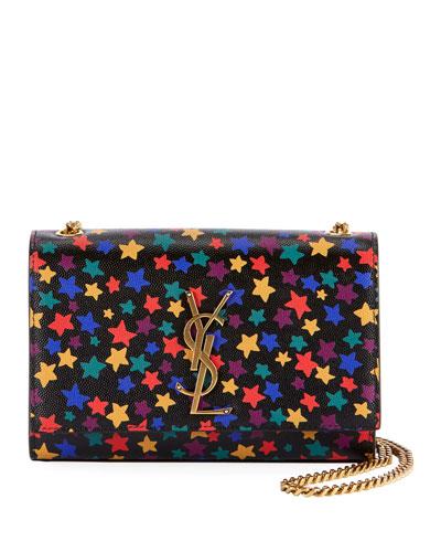 Kate Monogram YSL Small Star-Print Crossbody Bag
