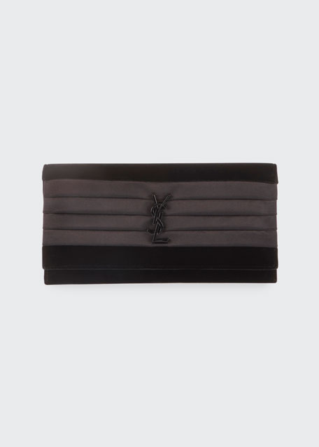 Smoking Small YSL Monogram Clutch Bag