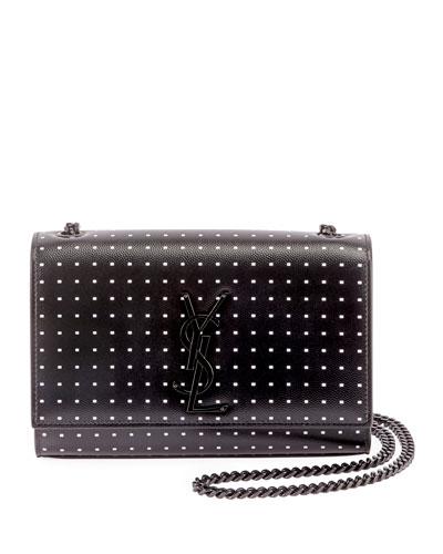69613b5a674a2 New Kate Small YSL Monogram Dash-Print Crossbody Bag Quick Look. Saint  Laurent