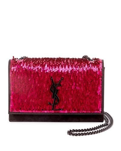 8008f22e8f5 Kate Small Monogram YSL Sequined Crossbody Bag Quick Look. Saint Laurent