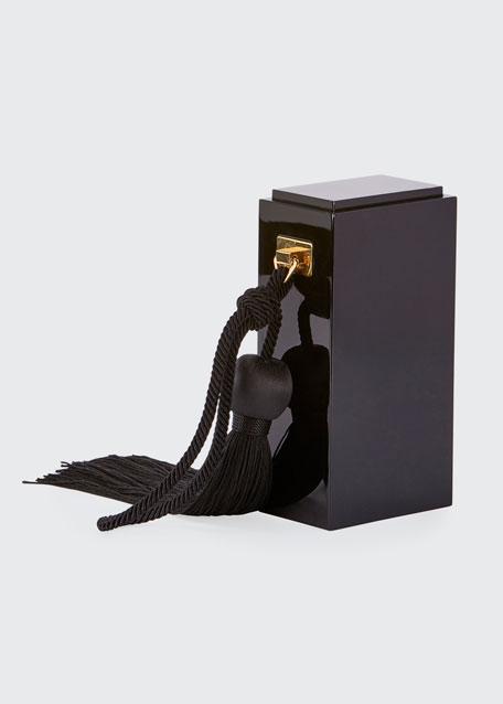 Match Box Tassel Minaudiere Bag