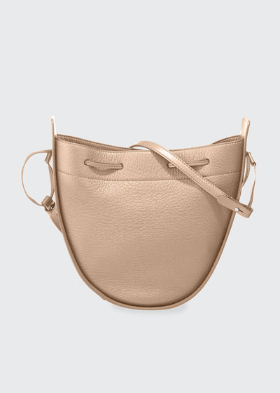 Deerskin Leather Drawstring Pouch Bag