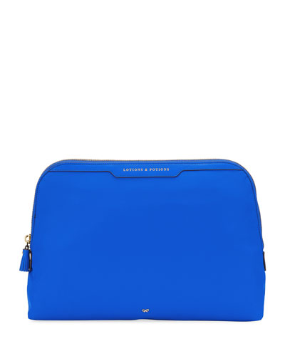 Lotions & Potions Cosmetics Bag  Electric Blue