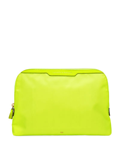 Lotions & Potions Cosmetics Bag  Neon Yellow
