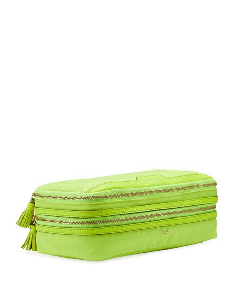 Make-Up Cosmetics Bag, Neon Yellow