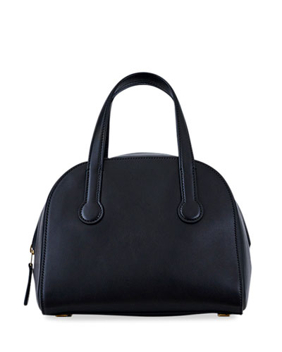 Sporty Bowler 9 Smooth Leather Top-Handle Bag