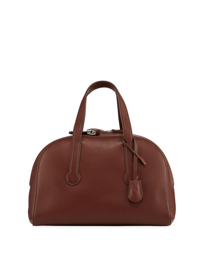 Sporty Bowler Smooth Top Handle Bag