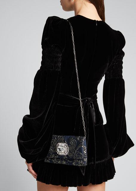 Titania Jeweled Cocktail Clutch Bag