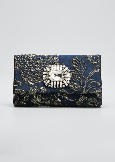 Titania Jeweled Cocktail Clutch Bag