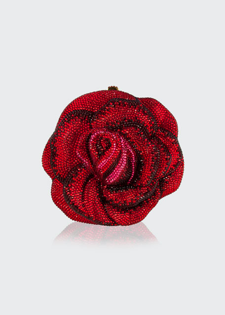 New Rose Crystal Minaudiere
