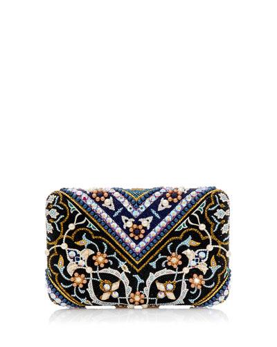 Seamless Tabriz Box Clutch Bag
