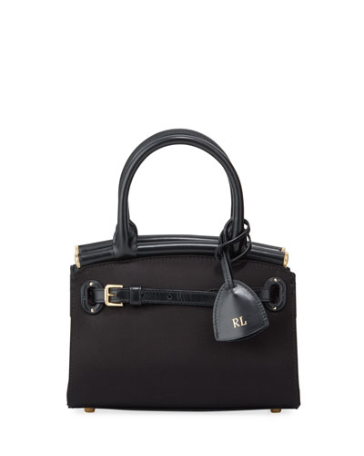 Satin Mini Top Handle Bag