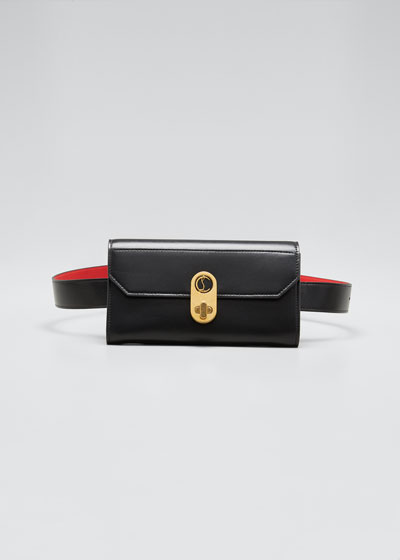 Elisa Paris Leather Belt Bag/Wallet on Chain