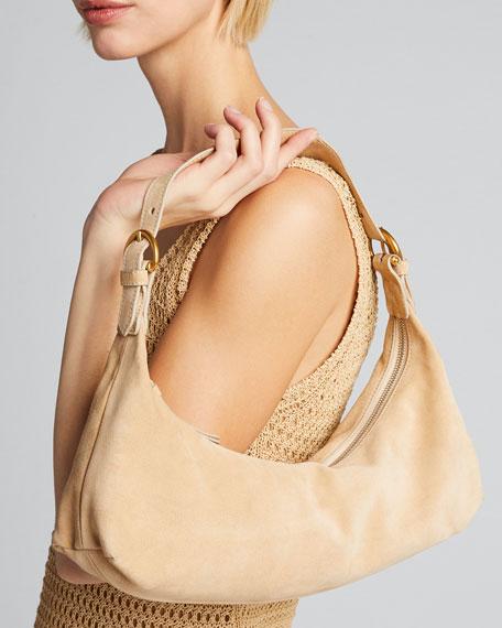 Mara Suede Shoulder Bag