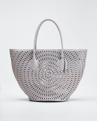 Latifa Small Cuir Lux Mini New Vienne Tote Bag