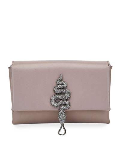 Maison Snake Small Shoulder Bag