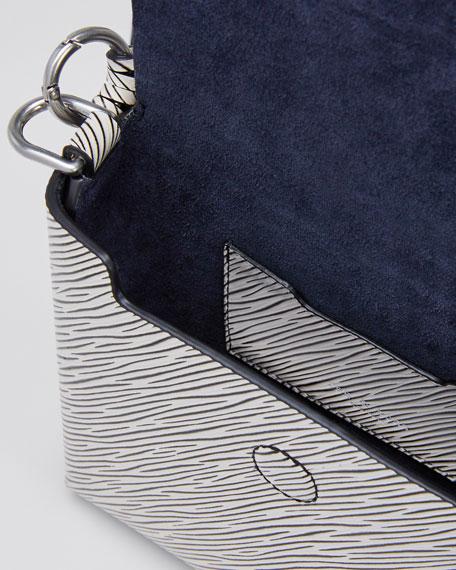 Stamped Micro Atlas Crossbody Bag