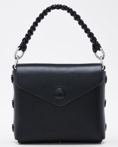 Micro Atlas Leather Crossbody Bag