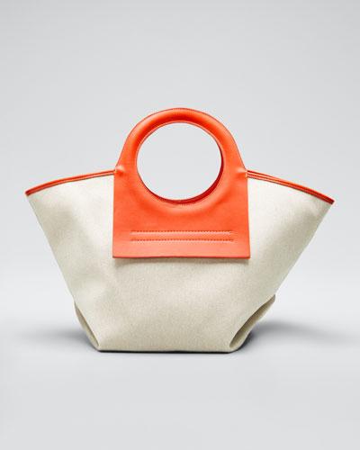 Canvas Small Cala Tote Bag