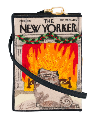 The New Yorker Strapped Book Clutch Bag