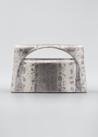 Sammy Small Keyhole Karung Clutch Bag