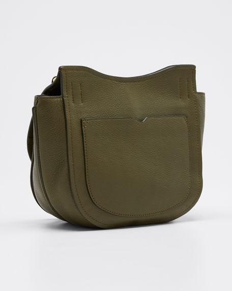 Alix Hunter Leather Shoulder Bag