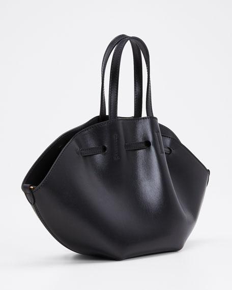 Lynne Leather Mini Tote Bag, Black