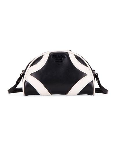Soft Calf Bowler Shoulder Bag