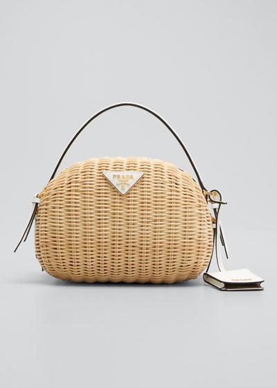 Midollino Odette Top Handle Bag