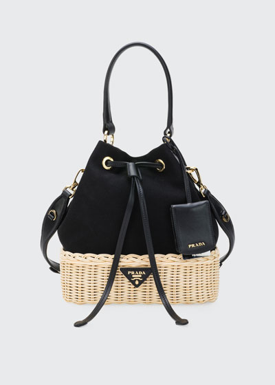 Midollino Canapa Bucket Bag