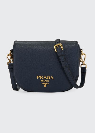 Daino Saddle Bag w/ Removable Web & Leather Straps
