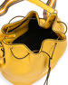 Daino Bucket Bag w/ Removable Web & Leather Straps
