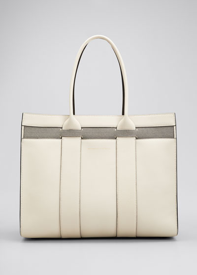 Large Top Handle Shopper Tote Bag
