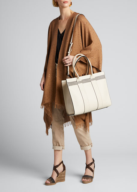 Large Top Handle Shopper Tote Bag