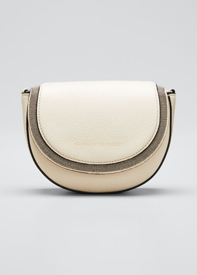 Halo Half-Moon Crossbody Bag