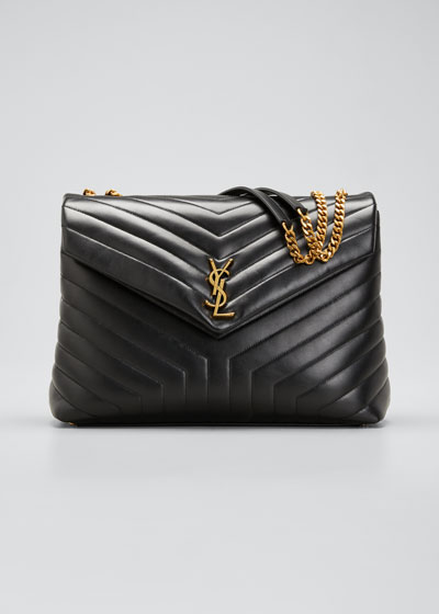 Loulou Quilted Leather YSL Bag