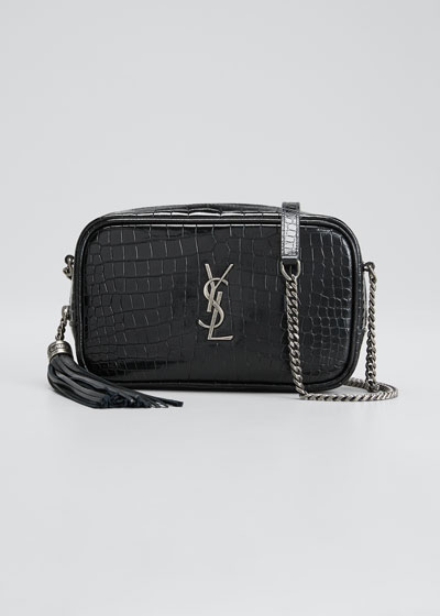 Lou Mini YSL Monogram Calf Camera Bag