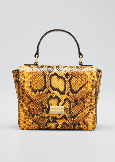 Magic Python-Print Shoulder Bag