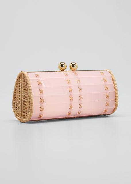 Baoba Acrylic Cylinder Clutch Bag