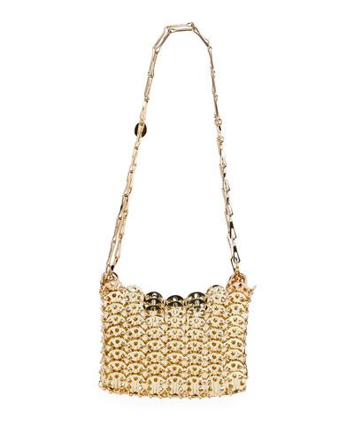 Iconic Mini Brass Link Chain Shoulder Bag