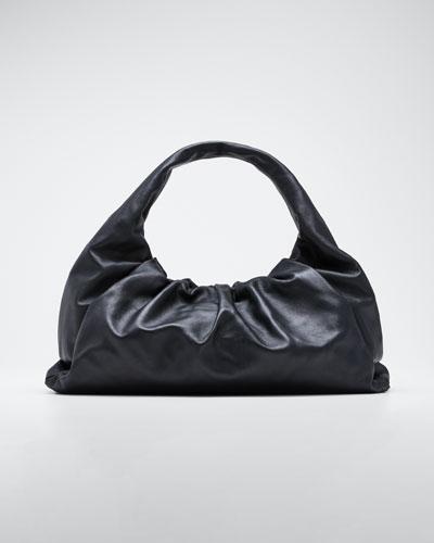 Medium Butter Napa Shoulder Hobo Bag