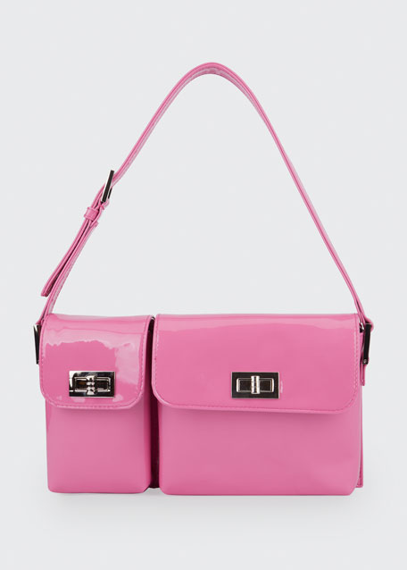 Billy Patent Leather Shoulder Bag